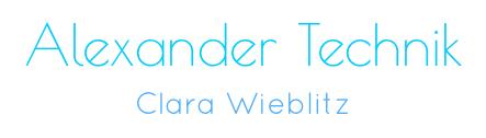 Alexander Technik – Clara Wieblitz